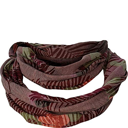 Royal Robbins Womens Featherweight Scarf (Rose Dust Print)