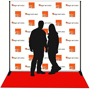 Amazon Com 8x8 Step Repeat Banner Stand And Red Carpet Office Products