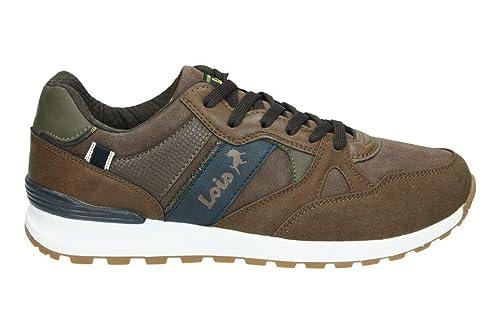 Zapatos Deportivos Marrón - LOIS 84744: Amazon.es: Zapatos y complementos