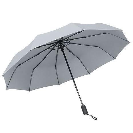 LybCvad paraguas Paraguas de colores transparentes paraguas de negocios Multicolor para hombres y mujeres a prueba