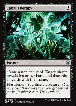 Foil Cabal (Magic: the Gathering - Cabal Therapy (043/249) - Eternal Masters - Foil by Magic: the Gathering)
