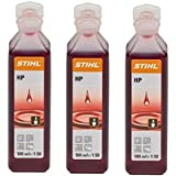 Stihl HP 100 ml One Shot 2 tiempos aceite parte no. 0781 319 8401 Pack de 3