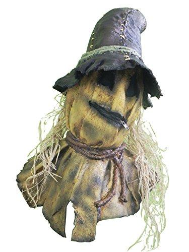 Evil Scarecrow Costume (Harvester Of Sorrow Scary Evil Scarecrow Horror Adult Halloween Costume Mask)