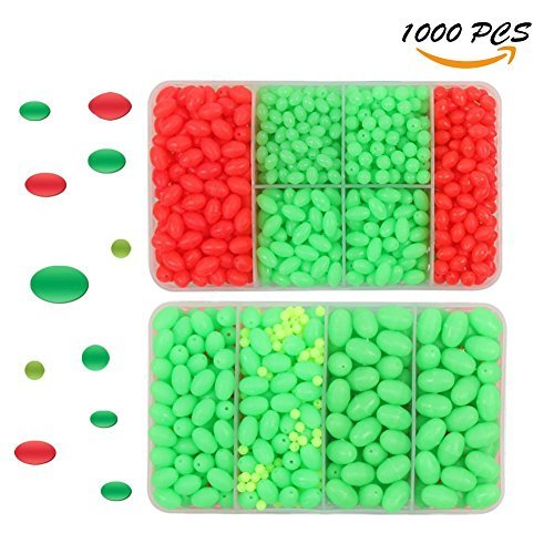 Rigging Trolling Lures - Croch Luminous Fishing Beads for Rigging Trolling lures (1000)