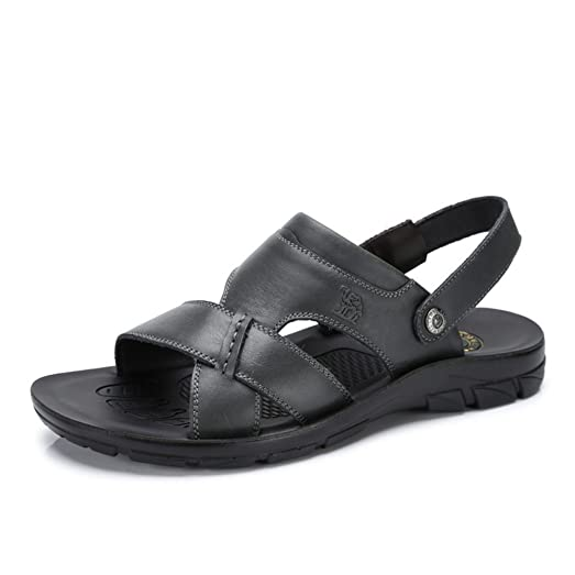 Men's Altamont Fisherman Sandals Color Black Size 39 M EU