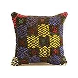Kilim Pillow 16x16 Decorative Pillow / Throw Pillow / Pillow Cover / Home Decor / Pillows / Decorative Pillows / Throw Pillows / Rustic / Rustic Decor / Couch Pillow / Designer Pillow / Cushion r409