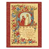Immanuel - Box Set of 12 Christmas Greeting Cards and matching patterned envelopes