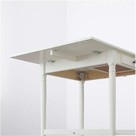 INGATORP, Mesa de hoja, color blanco: Amazon.es: Hogar