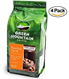 Green Mountain Coffee Roasters Hazelnut Decaf Ground Bagged, 12 ounces (4 Bags)