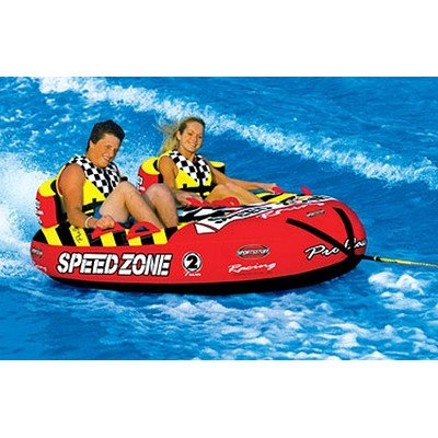 Sportsstuff Speedzone Towable Tube (SpeedZone 2 Towable Tube with Optional 2K Tow Rope)