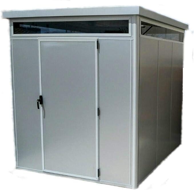 Thermoestank Caseta de Jardín Metal con Aislamiento térmico con ...