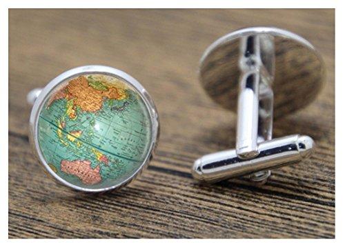 Steampunk - Globe World Map Pl