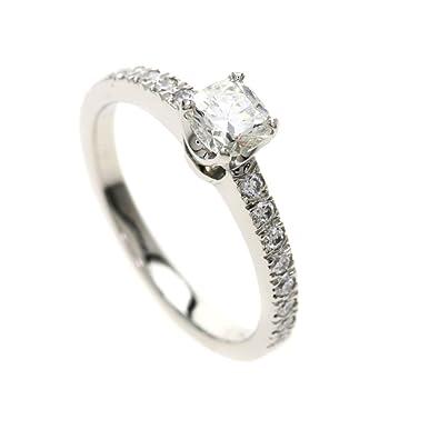 new styles 6117a 16ae9 Amazon | [ティファニー]ノヴォ ダイヤモンド クッションカット ...