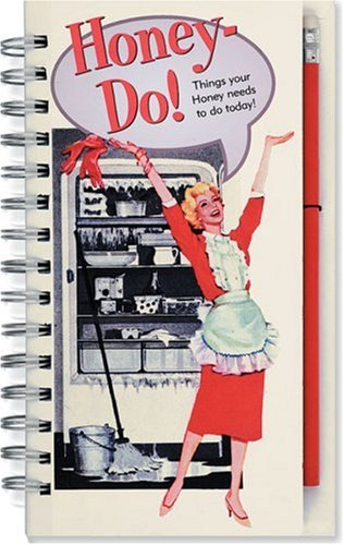 Honey-Do List Book (Note Pad) (Interactive Journals & Log Books) (Interactive Notepad)