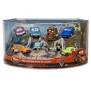 Disney cars 2 deluxe figure play set 7 pc - Juguetes disney cars ...