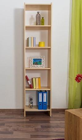 Estantería de madera maciza 001 - 200 x 50 x 30 cm (H x B x T ...