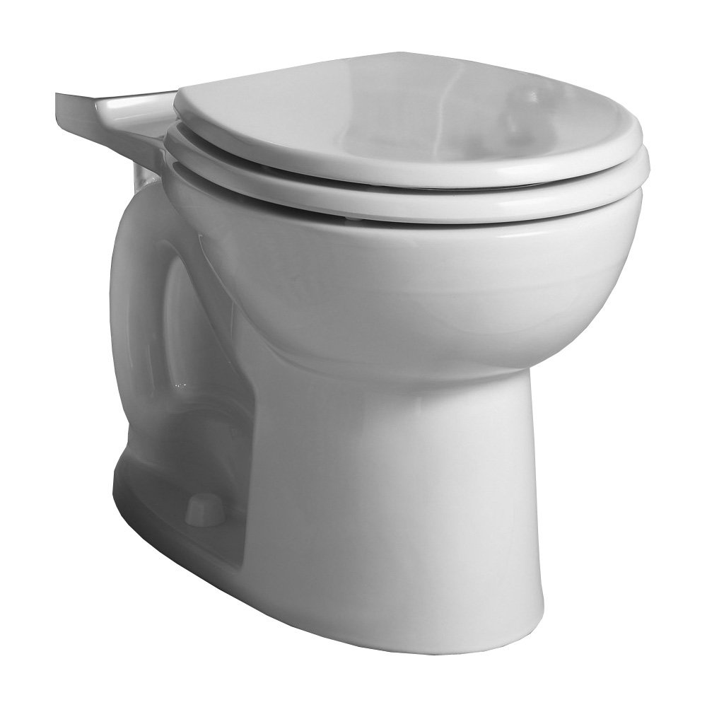American Standard 3011.001.020 Cadet 3 FloWise Round Front Universal Bowl, White