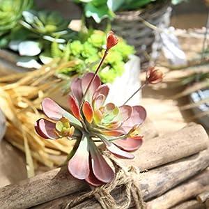 Artificial Flowers,Vibola® Artificial Succulent Plant Chrysanthemu Wedding Bouquet Decor 81