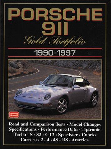 Porsche 911 Gold Portfolio, 1990-1997 (Gold Portfolio Series)