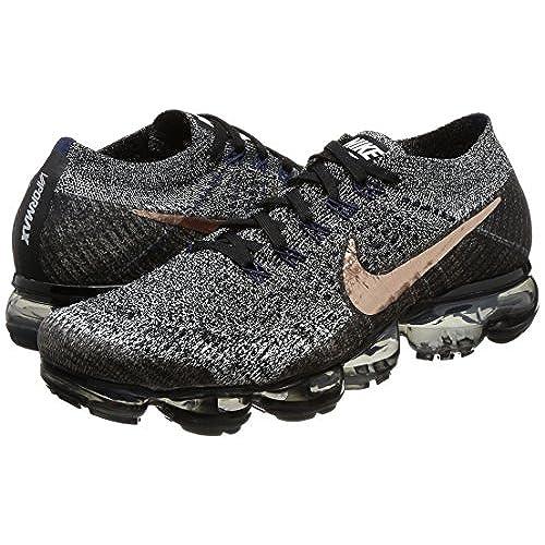 online store 53958 bc1d0 Men's Nike Air Vapormax Flyknit Black/Metallic Red Bronze ...