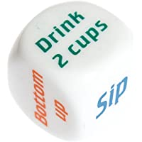 CadetBlue Drinking Games Dice for Adults