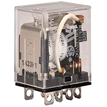 Peachy Nte Electronics R14 11D10 12 Series R14 General Purpose Dc Relay Wiring Cloud Tobiqorsaluggs Outletorg