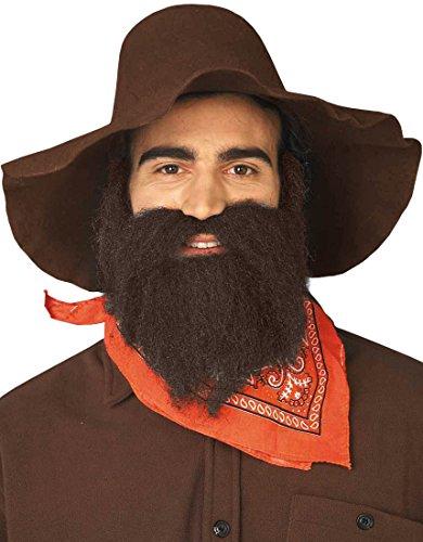 Forum Novelties 49Er Beard/Moustache, Brown