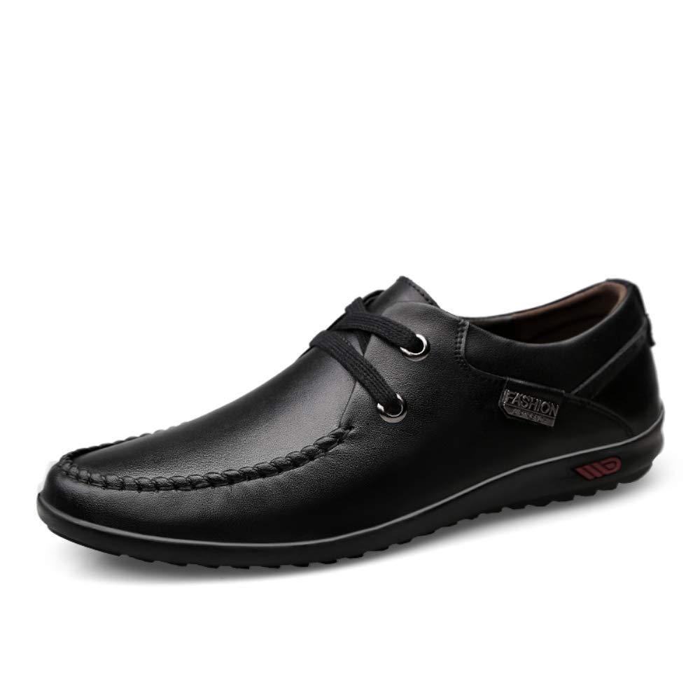 Leder Herren Oxford Schuhe Schuhe Rutschfeste Casual Business Fahr Schuhe Schuhe 405680