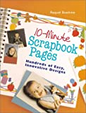 10-Minute Scrapbook Pages, Raquel Boehme, 0806917806