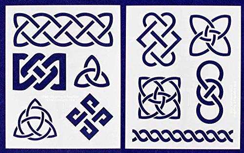 - Celtic Knot Stencils 8
