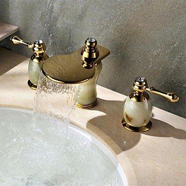 Miaoge Centerset Répandue Style Art déco en laiton cascade ...