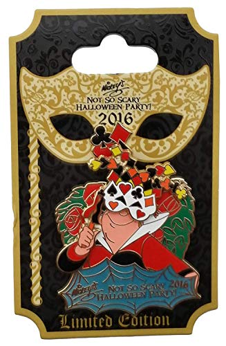 Disney Pin Mickey's Not So Scary Halloween Party 2016 Queen of Hearts Masquerade (Not So Scary Mickey Halloween Party 2016)