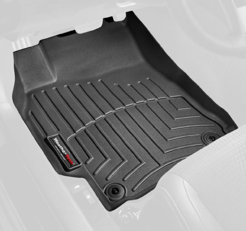 WeatherTech (44066-1-2-442355 FloorLiner with Center Aisle, Front/Rear, Black