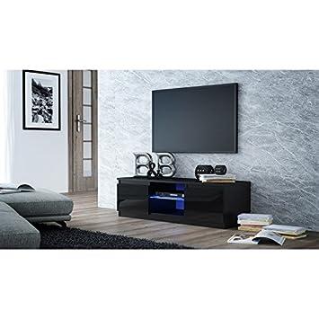 Sen Furniture Ltd Turin Modern Tv Media Unit Tv Standass Shelf