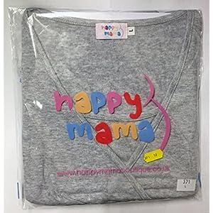 Happy Mama. Donna Felpa Cappuccio per L'Allattamento Top a Strati prémaman. 137p