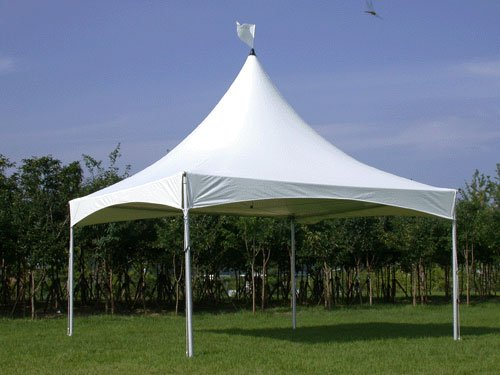 HIGH PEAK PARTY TENT 16.5′ X 16.5′ (5m x 5m) ANYTEN-505 – Party Tent Wedding Event High Peak Canopy