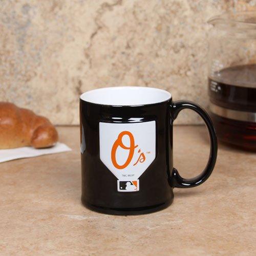 Baltimore Orioles 11oz. Sculpted Mug (Orioles Baltimore Mug)