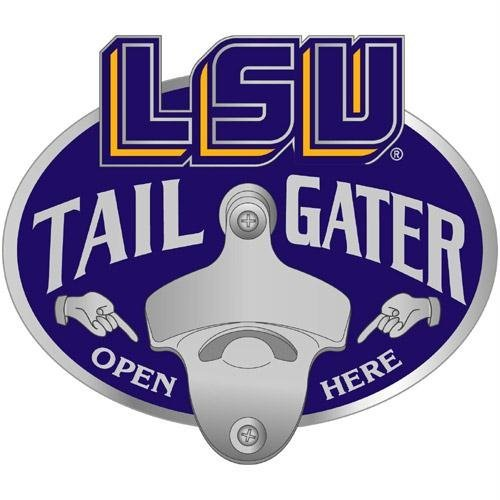 NCAA LSU Fightin Tigers Tailgater Hitch Cover - Louisiana State Lsu Tigers Trailer