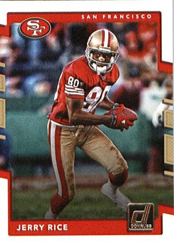 - 2017 Donruss #272 Jerry Rice San Francisco 49ers Football Card