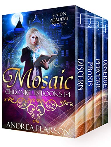 Mosaic Chronicles Books 1-4: Katon Academy Novels (Mosaic Chronicles Box Sets Book 1)