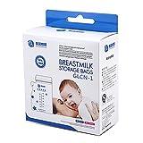 Gland Breastmilk Storage Bags BPA Free Leakproof, 8oz/250ml, 40/96 count(96 pcs breastmilk storage bags)