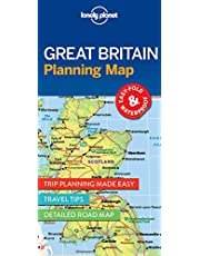 Lonely Planet Great Britain Planning Map 1st Ed.