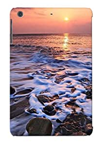 Eatcooment Anti-scratch And Shatterproof Foamy Waves Phone Case For Ipad Mini/mini 2/ High Quality Tpu Case