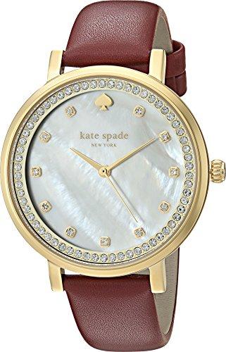 kate spade new york Women's KSW1170 Monterey Analog Display Quartz Red Watch by Kate Spade New York