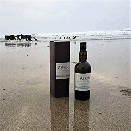 Port Askaig Islay 8 Años Whisky Escocés de Malta Individual - 700 ml