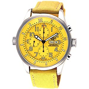 Zeno-Watch Mens Watch - Fellow Oversized Chronograph Day-Date - 6239TVDD-a9