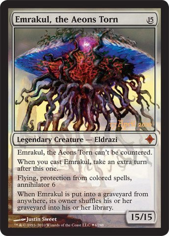 Magic: the Gathering - Emrakul, the Aeons Torn - Prerelease & Release Promos - Foil by Wizards of the Coast