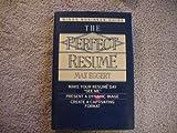 Perfect Resume, Max Eggert and David Sharman, 0517101394