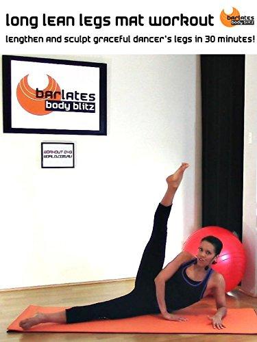 Barlates Body Blitz Long, Lean Legs Mat Workout