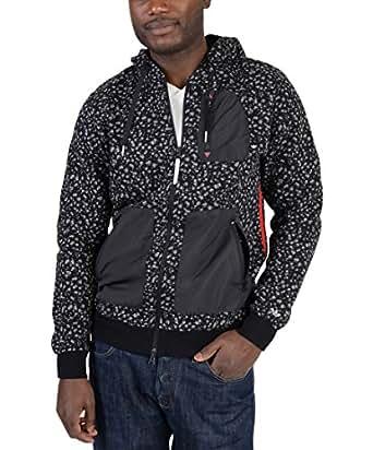 Adidas Mens Adventure Camo Spot Hoodie Black S